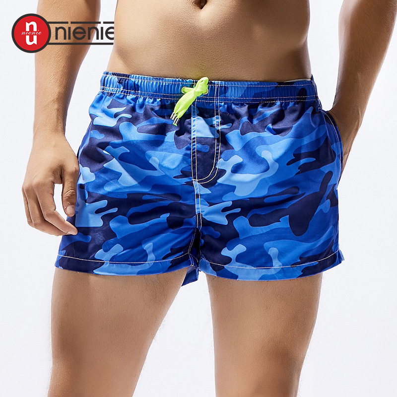 Responsible Summer Mens Quick-dry Short Men Board Beach Shorts Breathable New Fashion Printed Elastic Waist Thin Various Colors Loose Trendy Men's Clothing
