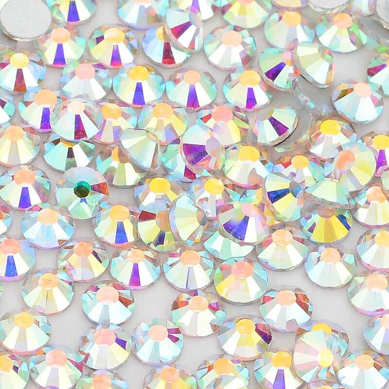 DingSheng прозрачный кристалл AB стеклянные фальшивые бриллианты Flatback Номера исправление для ногтей искусство украшения