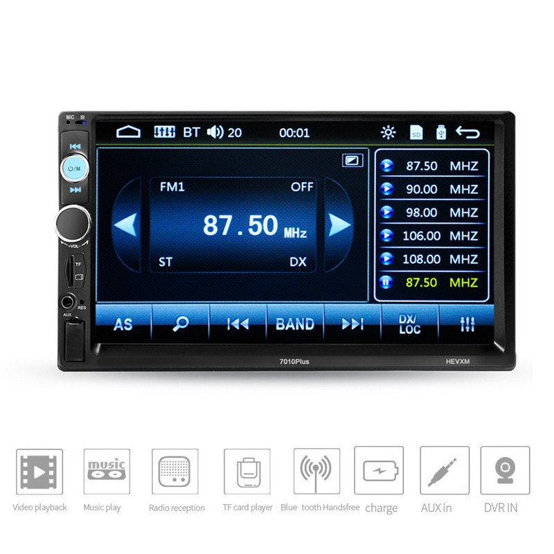 7 Inch Car MP4 MP5 Players Central Multimedia Touch Screen Night vision Rear View Camera Bluetooth Auto FM Radio Video Player-in Car MP4 & MP5 Players from Automobiles & Motorcycles