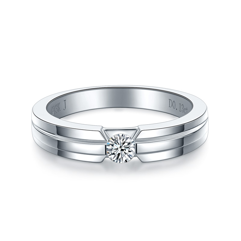 ZHJIASHUN Trendy Halo 0.1cttw Real Natural Diamond 14k 585 White Gold Engagement Ring Wedding Bands For Women Fine Jewelry