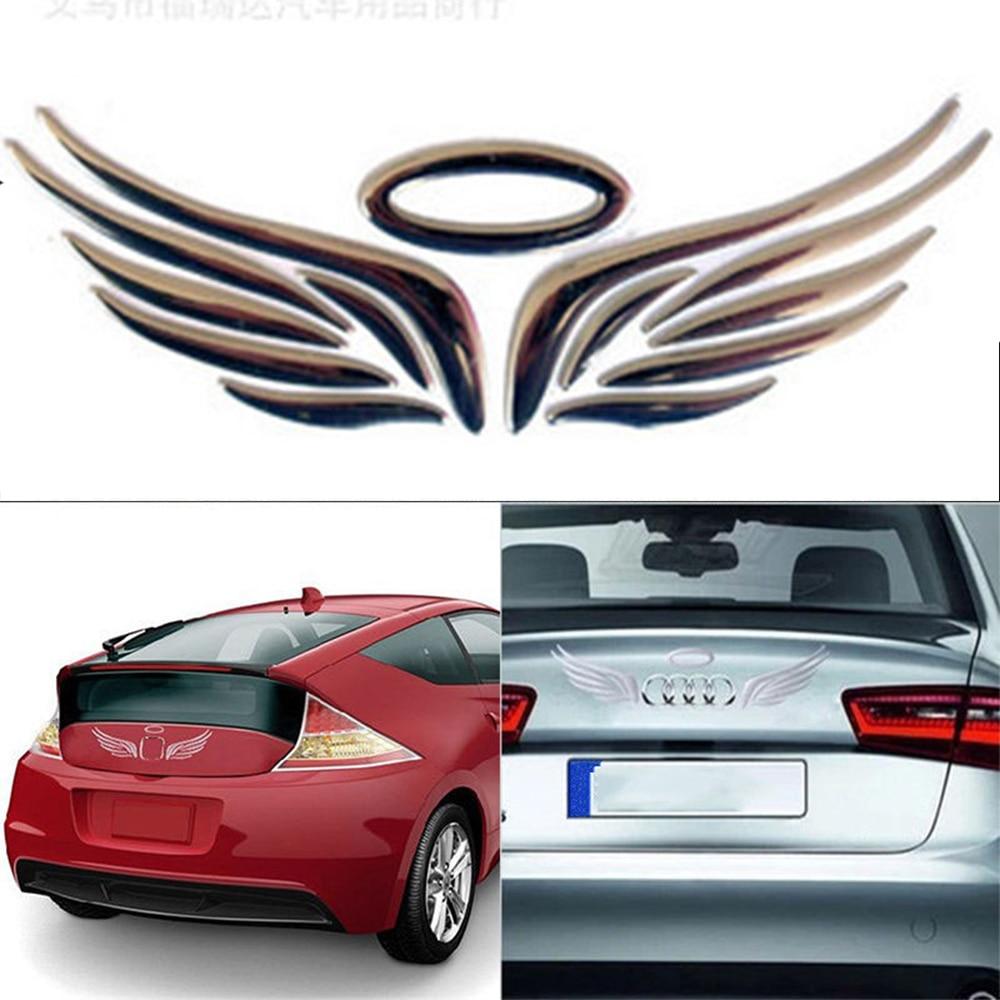 Pair Chrome Scorpion Metal Emblem Badge Decal Sticker Logo Style 3D Motors Car
