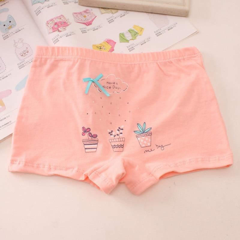 Baby Girls 4pcs/pack panties shorts Fashion Baby Underwear Cotton Panties For Girls Kids Short Briefs Children Underpants 4