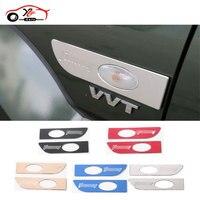 2pcs Car Styling Aluminium Turn Signal Light Guards Exterior Moulding Side Lamps Decoration For Suzuki Jimny