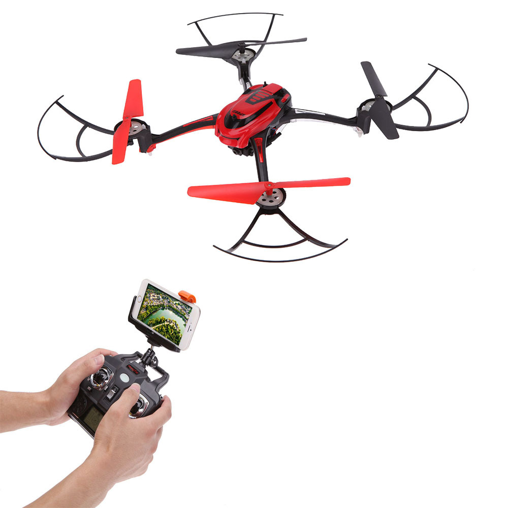 Free Shipppg F802C 6-Axis Gyro 2.4G 4-CH WIFI FPV Real-time Image RC Quadcopter with HD Camera 3D flip and CF Mode VS GW007 H6C jjr c jjrc h43wh h43 selfie elfie wifi fpv with hd camera altitude hold headless mode foldable arm rc quadcopter drone h37 mini