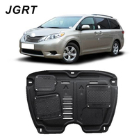 Car styling For Toyota Sienna 2011-2015 plastic steel engine guard For Sienna Engine skid plate fender 1pc