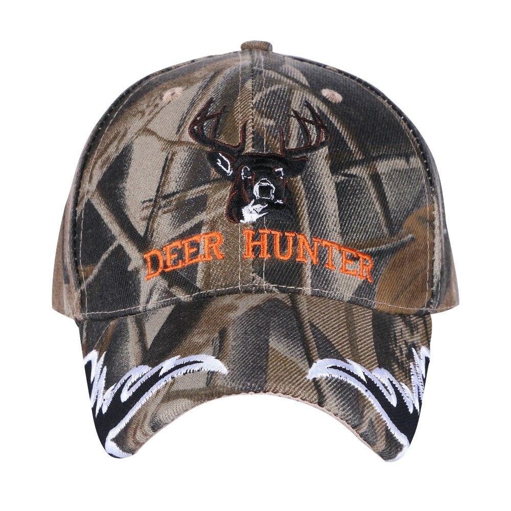 promotion women men hip hop baseball cap embroidery custom design fashion hats camouflage deer girl boy new snapback