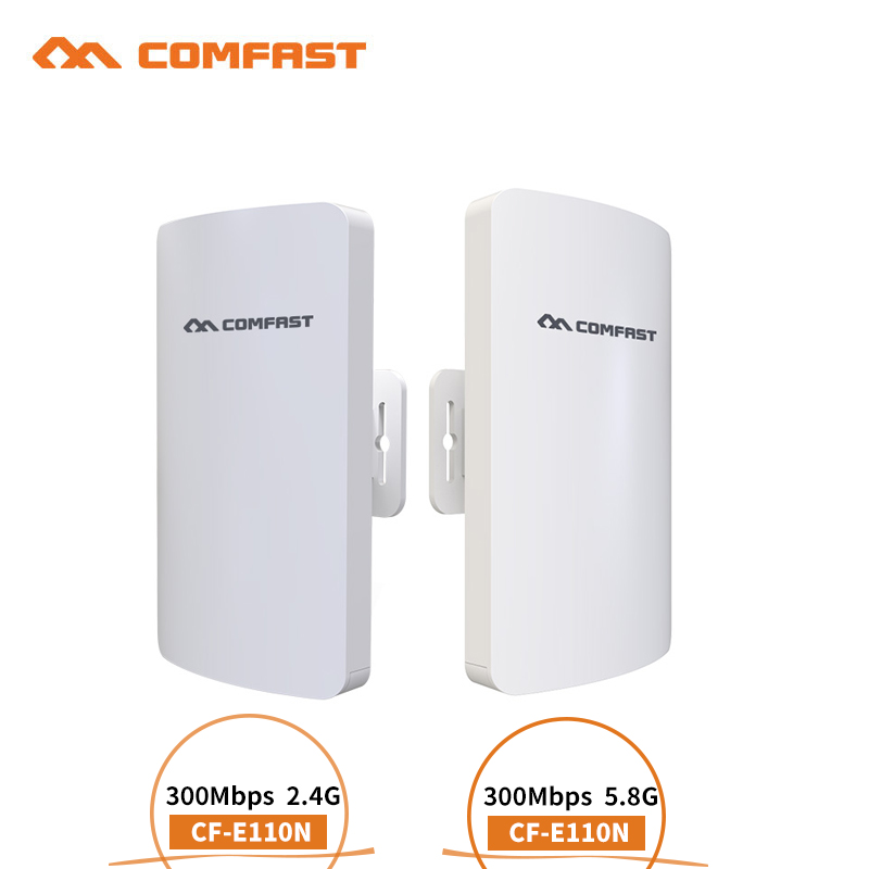 2 4G 5GHz 300Mbps Long Range mini CPE wireless router wifi repeater extender wi fi Ethernet