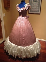 Гражданская война костюм ренессанс платье атласное платье