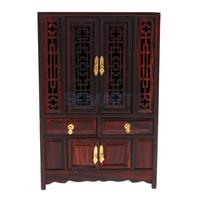 1/6 Wooden Cabinet/Cupboard/ Wardrobe for Hot Toys Barbie Blythe Dolls House Furniture Model Collections