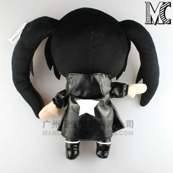 NEW hot 26cm BLACK ROCK SHOOTER  Plush Toys soft Stuffed Doll