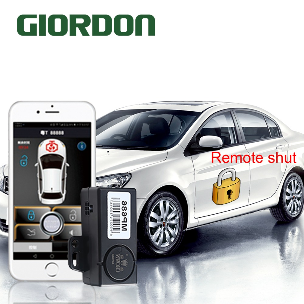 Mobile Phone Sensor Control Car Bluetooth Connection Comfortable Into The Mobile Phone Two Switch Door Lock Mobile Phone Boot
