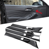 TOMEFON For Toyota Avalon XX50 2019 Car Inner Door Handle Bowl Strips Frame Panel Cover Trim Styling Interior Accessories ABS