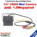 Бесплатная доставка! Новый Кмоп Супер Мини AHD HD Видеокамера Маленький Маленький Карман 720 P 1.0MP Мини Камеры наблюдения для домашнего использования