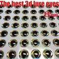 2019new fishing 3d lure eyes perfect dropping process good fish eyes size:4mm--8mm quntily:300pcs/lot
