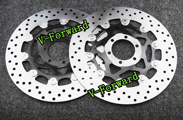 Motorcycle Front Brake Disc Rotors For RST Futura1000   01-04  Universel motorcycle rear brake disc rotors for gtr 1000 86 93 universel