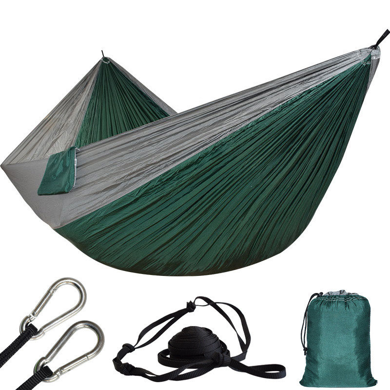 Ultra-large 2 Person Parachute Cloth Hammock Double Garden Swing Nylon Survival Hamac Sleeping Hamaca Hamak Rede De Dormir Bed rede de mosquito garden hammock swing portable parachute hammock