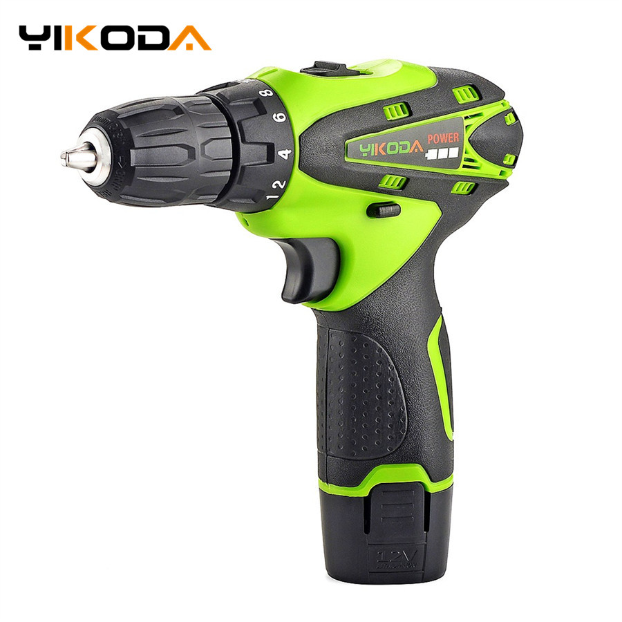 12V Electric Screwdriver Cordless Lithium Battery Rechargeable Parafusadeira Furadeira Electric Drill Power Tools