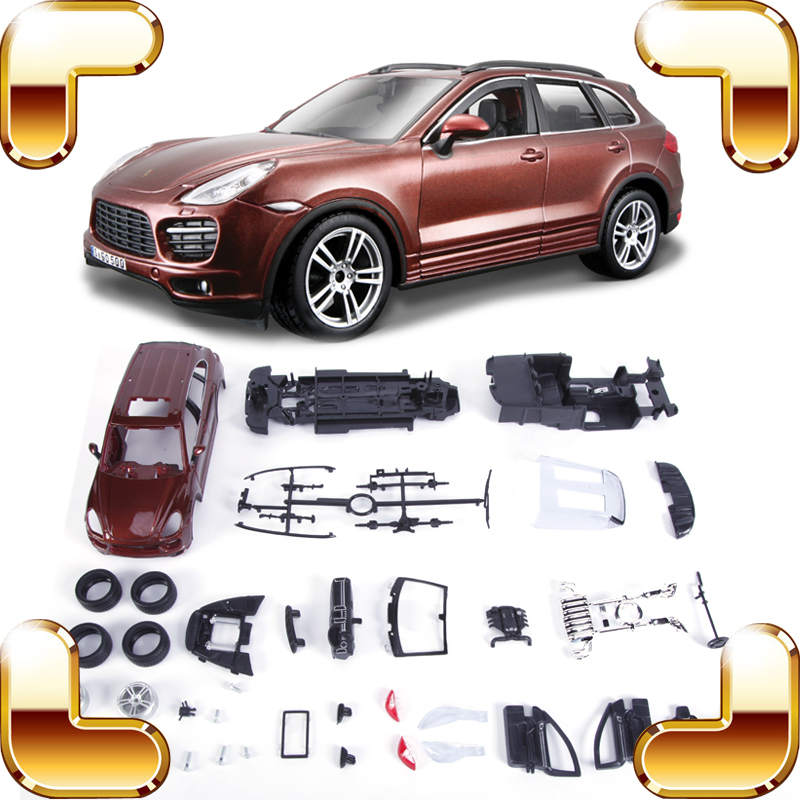 ФОТО New Idea Gift Ca 1/24 Model DIY Game Car Metallic Alloy Collection Assembly Education Toys Fun Piece Up Boys Present Decoration