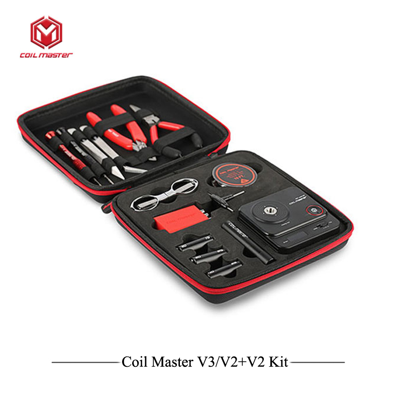 Original Coil Master DIY Kite V3 All-in-One kit for DIY Electronic Cigaretta with Japanese Organic Cotton