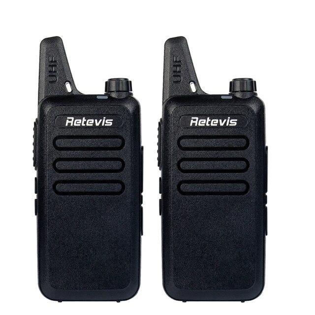 2 pcs rt22 retevis walkie talkie uhf 400-480 mhz 2 w 16 ch CTCSS/DCS TOT VOX Digitalização Squelch Freqüência uhf cb Rádio Comunicador A9121A
