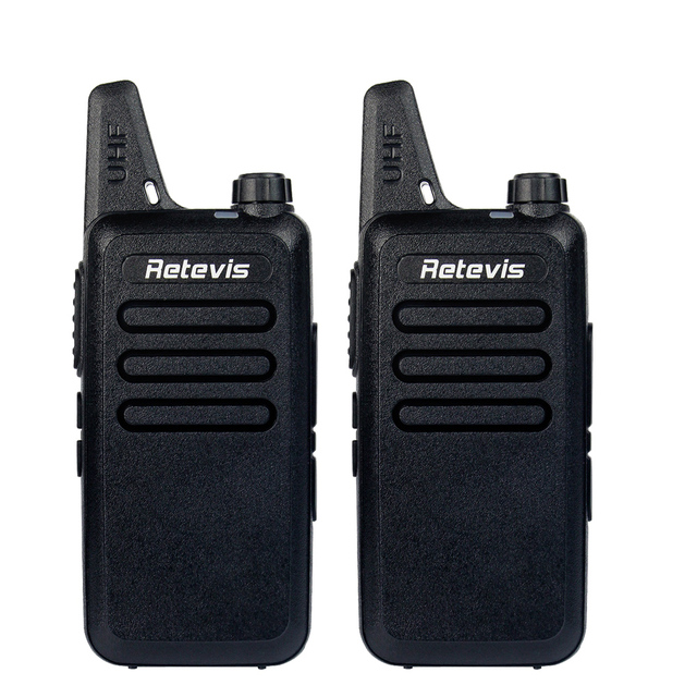2pcs Retevis RT22 Walkie Talkie UHF 400-480MHz 2W 16 CH CTCSS/DCS TOT VOX Scan Squelch uhf Frequency cb Radio Comunicador A9121A