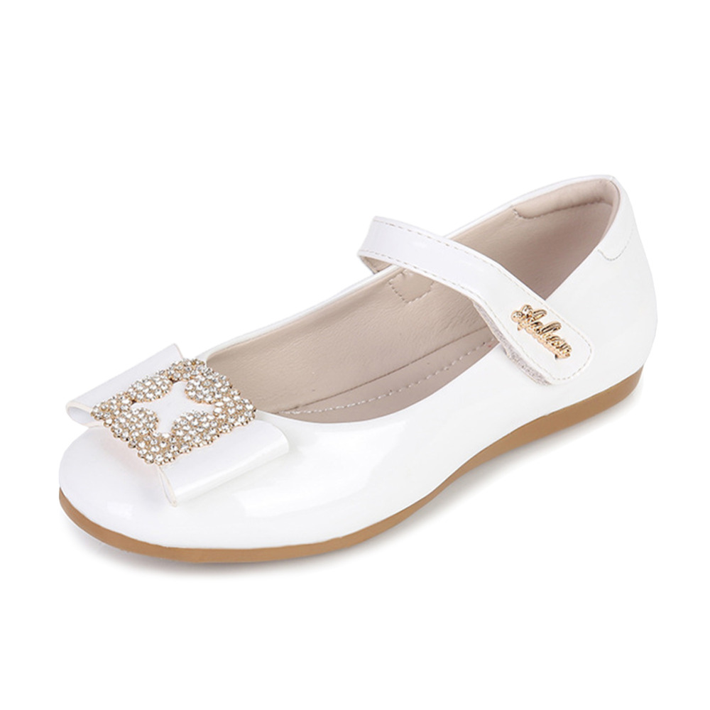 Aliexpress.com   Buy Girls Party Shoes Chaussure Sequin Flat Princess Kids  Wedding Shoes School Soft Pu Leather Loafers Toddler Princess Shoes from  Reliable ... 93fc17c64343