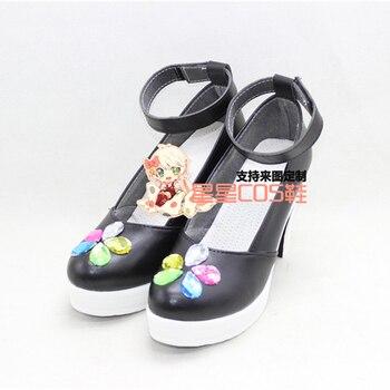 c54077a49 Love live Cyber ver Honoka Kotori Umi Eli Nozomi Maki Rin Hanayo Nico обувь  для косплея аниме на заказ