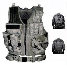 Military Equipment Tactical Vest Police Training Combat Body Armor Army Paintball Hunting Airsoft Vest Molle Protective Vests adjustable tactical molle vest military equipment airsoft paintball hunting protection body armor usmc army vest