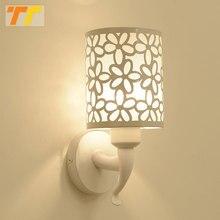 벽 램프 실내 침실 간단한 스타일 벽 Sconces 벽 조명 램프 침구 램프 Luminaria 크리 에이 티브 계단 거실 램프
