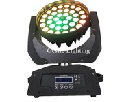 Pro Stage Light 36x10W RGBW LED Moving Head Zoom Wash Light 4in1 Quad Color LED Stage