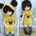 Cool Cute Aminal Jacket for 1/6 1/4 1/3 YOSD MSD BJD Doll Super Dollfie Clothes
