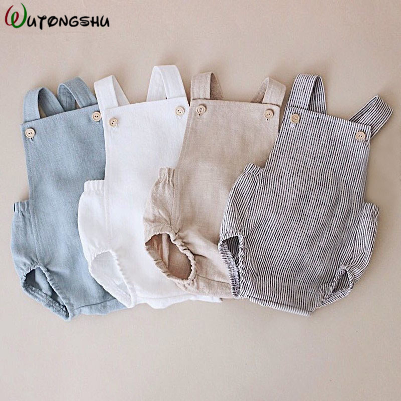 Baby Boys Romper Summer Infant Cotton Unisex Newborn Rompers New Born Baby One-pieces Girls Jumpsuit Baby Boy Clothes Outfit