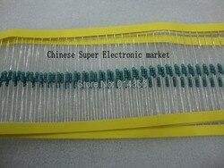 200PCS 1/4W Watt 100K ohm 100K de Metal Filme Resistor 0.25W 1% (1 K 2K2 3K3 33 47 22 10K K K K 220K 470K 1M 0R 22K 10R 220R 330R)
