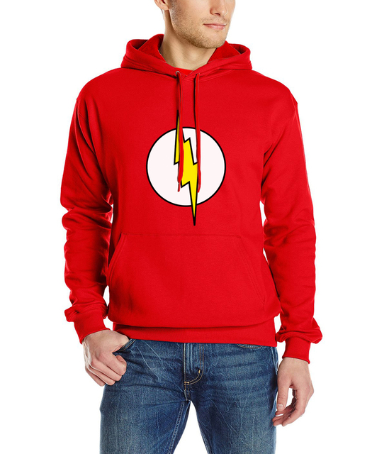 The Flash- Hoodies (Lighting Logo)