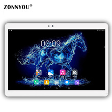 10.1 inch Tablet PC Android 6.0 4GB RAM 32GB ROM 3G Call Dual SIM Octa-Core GPS Wifi 3G Tablet PC Package series