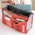 FIREBIRD! 2015 Nueva Señoras del Mens Caja de Maquillaje Viajes Tocador Wash Bag Doble Cremallera HL6008