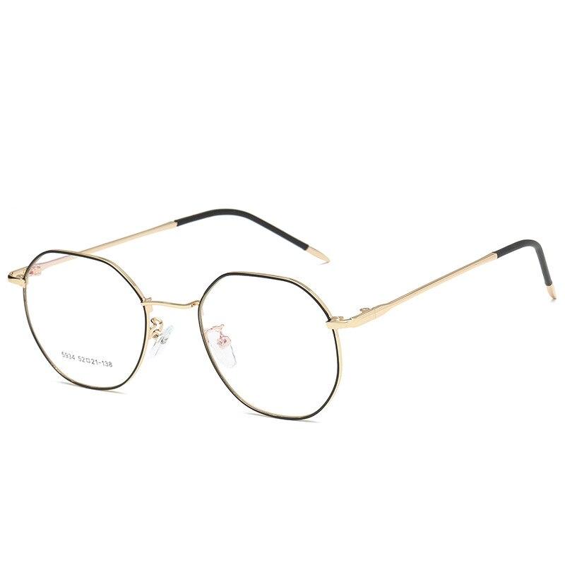 Новые металлические ультра-легкие очки модные тенденции ретро плоское зеркало для обувь для мужчин и женщин может быть оснащен близорукост...