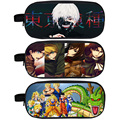 Anime Tokyo Ghoul / Attack on Titan / Dragon Ball Pencil Holder Boys School Case Kids Cases Student Bag Material Escolar Lapices