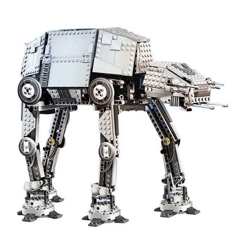 LEPIN 05050 1137Pcs Star Wars Electric Remote AT-AT Robot Model Building Block Toys Gift For Children Compatible Legoe 75054 05050 lepin star wars motorized walking at at model building blocks classic enlighten figure toys for children compatible legoe