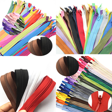 10pcs 3# 60cm(24Inch) Length Closed Nylon Coil Zippers Tailor Trousers slide fastener Garment Sewing Handcraft DIY Accessories