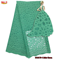 Mr Z Simple Design French Net African Lace Fabric For Dress 2017 Stones Nigerian Embroidered Lace