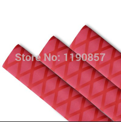 1meter of 35mm  Fishing Rod Pole Handle Non Slip GripTextured Heat Shrink Tubing sleeve for fishing rod