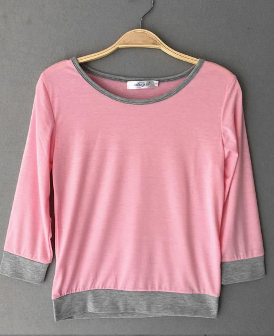 b762957e089be2 Off Shoulder Women Blouses Tops Neon Green Blue Blouse Women Fall Fashion  Plus Size Half Sleeve Shirt Causal Pink Top-in Blouses & Shirts from Women's  ...