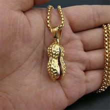 Женские ожерелья подвески и цепочки в виде арахиса для женщин