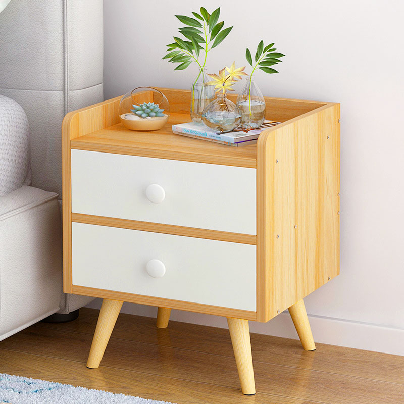 Modern minimalist nightstand nordic style bedroom storage - Small storage cabinet for bedroom ...