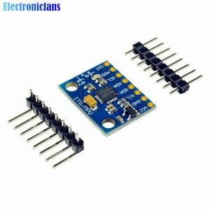 1 Набор IIC I2C GY-521 MPU-6050 MPU6050 3-осевой аналоговый гироскоп Датчики + 3-осевой акселерометр модуль для Arduino с контактами 3-5 в постоянного тока