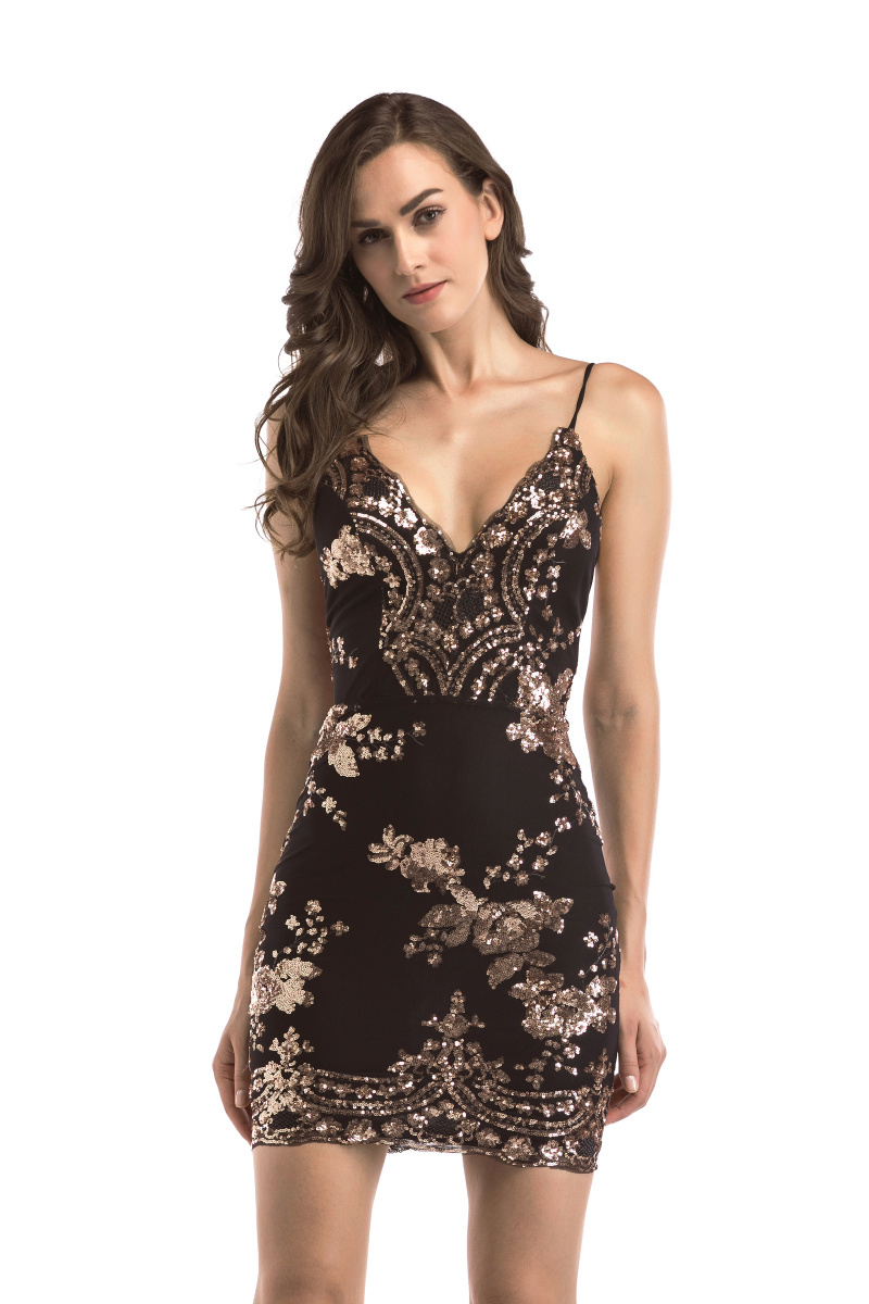 2020 Luxury Sexy Sequins PArty Dress 42