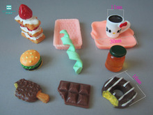 10pcs/lot Simulation food for bjd doll house accessory play toy accessories