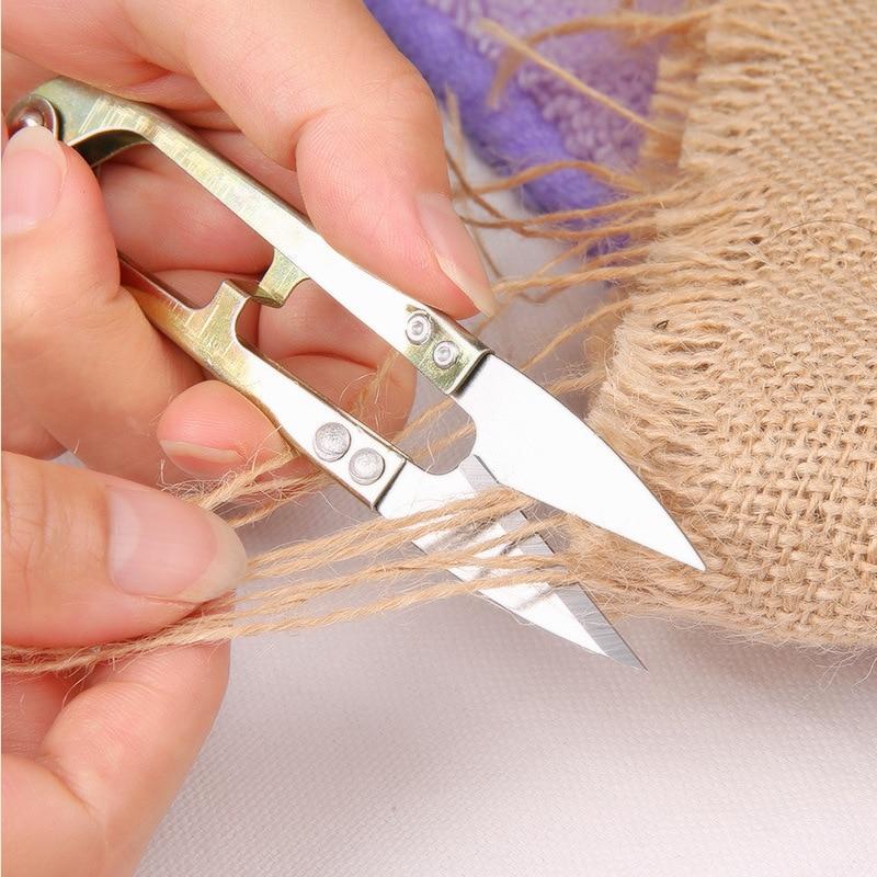 10.5*2cm Cross Stitch Tailor Scissor DIY Tool Sewing Supplies fish line Thrum Thread Yarn Cutter Clipper Nipper Trimmer Snip