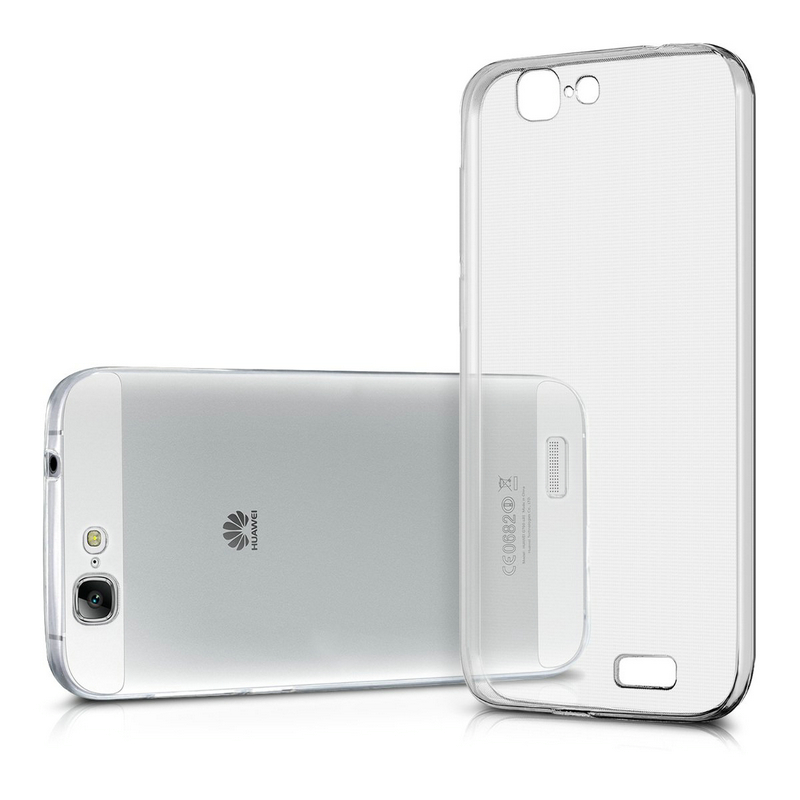 Case For Huawei Ascend G7 TPU Silicon Durable Clear Transparent Soft Case for Huawei G7-L01 Back Cover